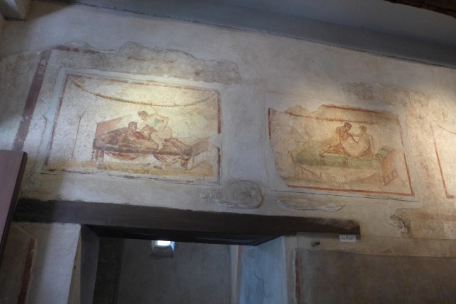 Frescoes in the brothel
