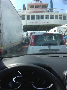 Car ferry to Messina