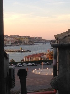 View from hotel room in Ortigia