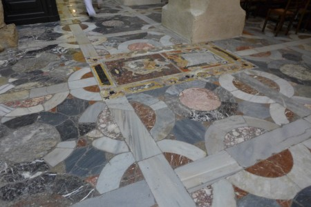 Floor of the Duomo