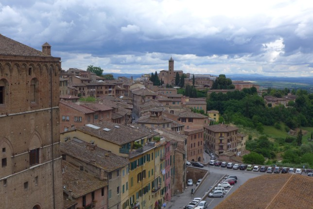 View from the Pinacoteca Nazionale
