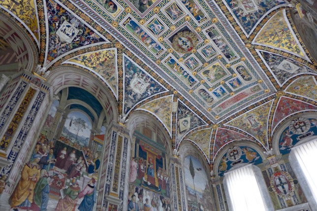 Ceiling and some frescoes