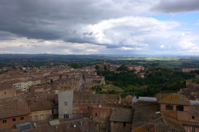 View from atop the Duomo museum