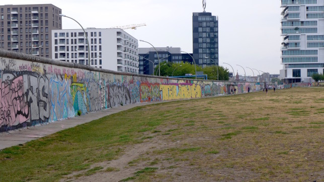 More of the backside of the East Side Gallery.