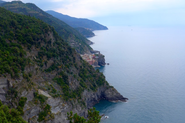 Vernazza just coming into view