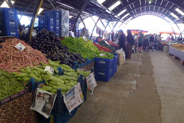 Some produce at the market