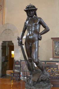 Donatello masterpiece at the Bargello