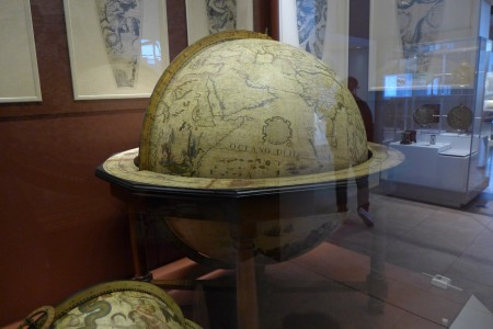 Globe of our round world