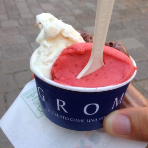 Gelato from Grom
