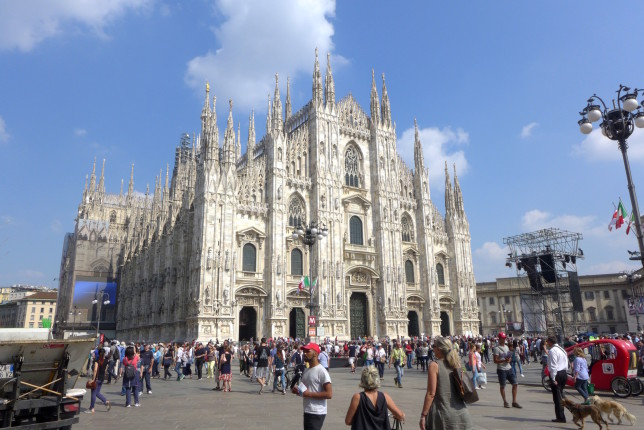 Duomo in a busy square