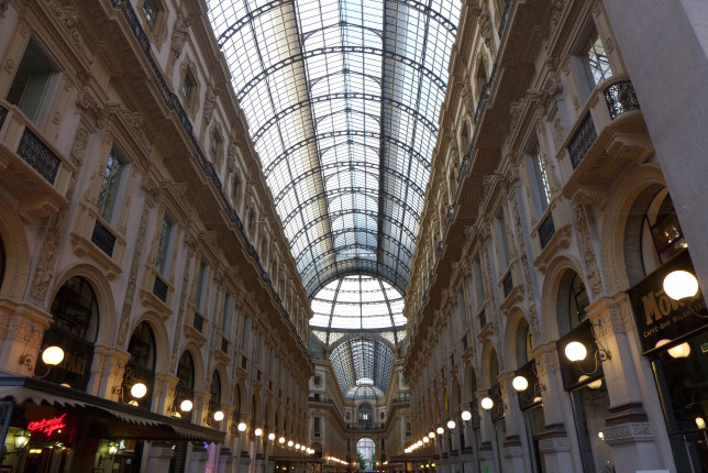 Galleria Vittorio Emanuele II, one of the world's oldest shopping malls